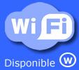 Connexion sécurisé en WI-FI disponible